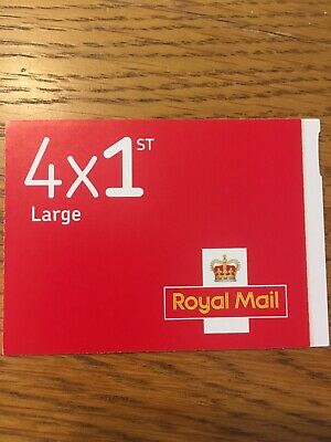 New Royal Mail Stamps 4 x 1st First Class Large
