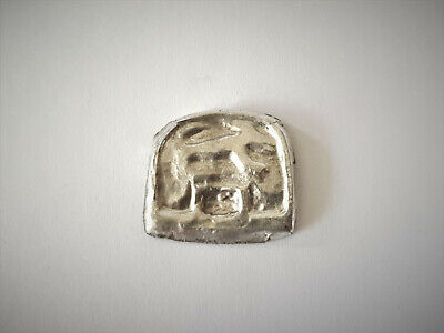 Medieval Viking Silver Zoomorphic Mount 8-10 Ad