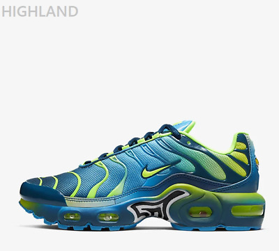 Nike Air Max Plus QS Blue Hero Blue Force Volt For Kids Boys Girls Trainers