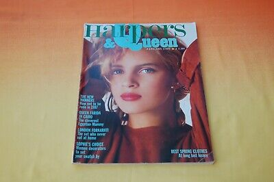 Harpers & Queen International Magazine January 1987