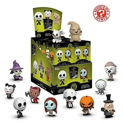 Funko Mystery Minis Nightmare Before Christmas 25 Year, Figures by the Unit !
