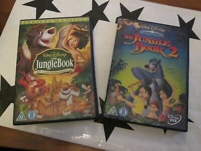 WALT DISNEY THE JUNGLE BOOK 1 & 2  -  40th ANNIVERSARY EDITION   ** XMAS TIME **