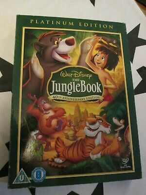 WALT DISNEY THE JUNGLE BOOK - 40th ANNIVERSARY EDITION   ** XMAS TIME **