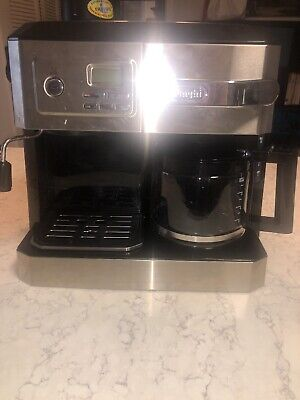 Delonghi BC0330T Combination Drip Coffee and Espresso Machine - Black