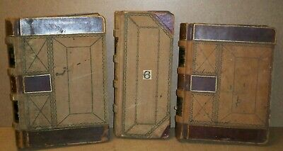 Antique 3 - LEDGERS 1880s-1890s Watson and Tschirgi Hardware / Reinbeck Iowa