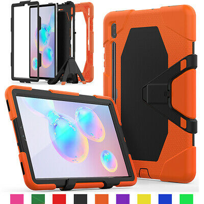 For Samsung Galaxy Tab S6 10.5 T860 Case 360 Screen Protector with Pencil Holder