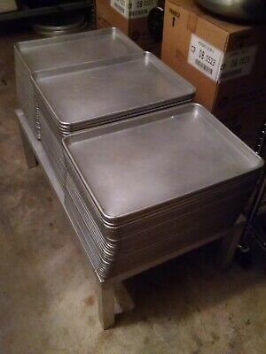 Vollrath Wearever Half Size Commercial Baking Pans - Pack of 25