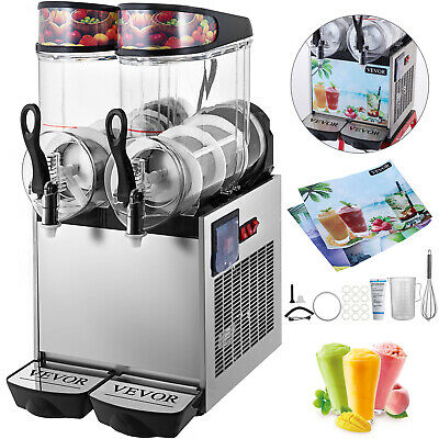 Machines A Granités Machines A Granitas Slushie Slushy 700w 12Lx2 Commerciale