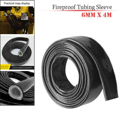 5M Heat Fire Flame Thermo Sleeve Shield For Fuel Oil Hose 16mm ID SILVER
