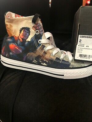 Converse Superman  Youth Size 2