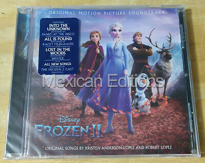 Frozen 2 Soundtrack Mexican Edition CD