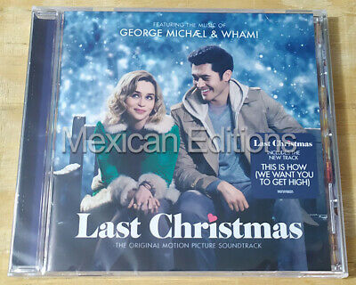 George Michael & Wham! Last Christmas Soundtrack Mexican Edition CD