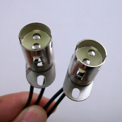 1 x 1157 BAY15D LED Light Bulb Socket Holder With Wire Connector for Car Trucks