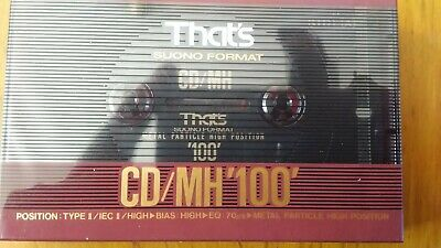 That's Cd/Mh 100 Factory Sealed Audio Cassette Japan
