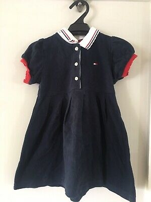 Tommy Hilfiger Navy baby girl dress size 1 (12-18 months)