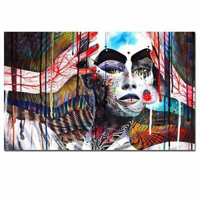 HD Print Wall Art 3D Meditation Psychedelic Poster Painting Canvas Modern Decor