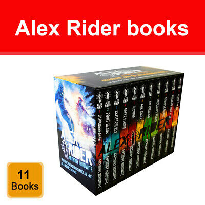 Alex Rider Series 7-10 Books Collection Set by Anthony Horowitz Crocodile Tears