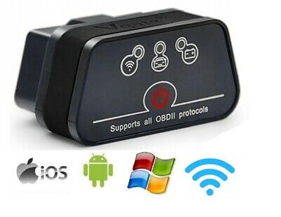 Vgate iCar 2 ELM327 WiFi OBD2 OBDII Car Diagnostic Scanner - IOS Android Windows