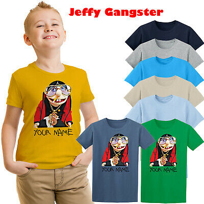 Jeffy T-shirt Jeffy Gangster Personalised Kids T-shirt Gilrs Boy Youtuber Top