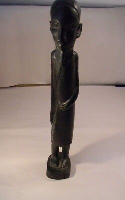 "Ironwood Hand Carved Man 17 1/2"" Tall"