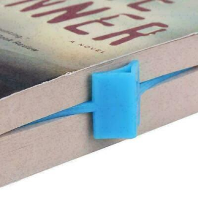 1Pcs Multifunction Thumb Thing Book Page Holder Convenient Markers Bookmark Y8X3