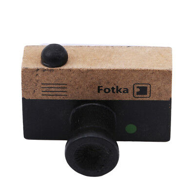 Wooden Small Camera Shape Toys Seal Children's Baby Learning Toys Game N7