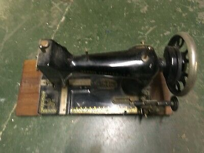 Harris Sewing Machine 9H Spares or Repairs Untested