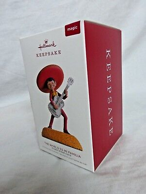 Hallmark Keepsake Ornament 2018 The World Es Mi Familia Disney Pixar Coco New