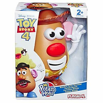 Mr. Disney Pixar Toy Story 4 Woody S Tater Roundup Figure Toy For Kids Ages 2 A