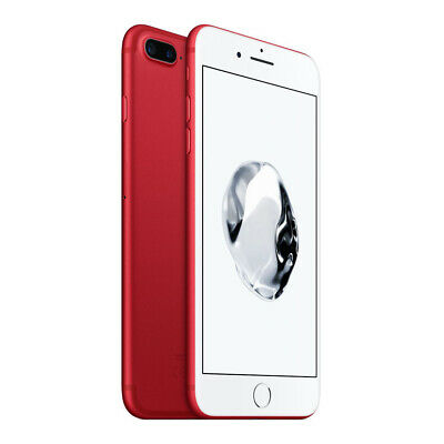 Apple iPhone 7 Plus 128GB Factory Unlocked - Red Smartphone A1661 128 Phone iOS