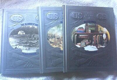 The Civil War series by Time Life (3 volumes from the 28 book set) BK