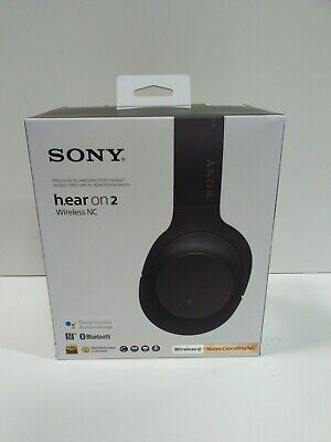 Sony WHH900NB Over-Ear Bluetooth Wireless Headphones - Black(CT18)