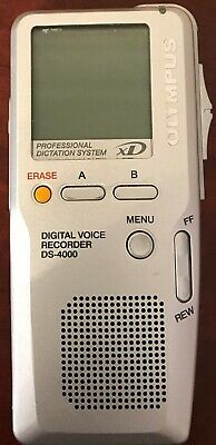 Digital Voice Recorder Olympus DS-4000 Voice Recorder 3 available Express Post