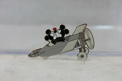 Disney Parks Pin Mickey Minnie Mouse Plane Crazy Kissing
