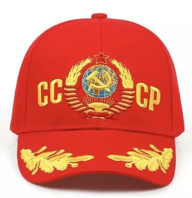 Hammer and Sickle USSR CCCP Hat Baseball Caps FREE SHIPPING UK SELLER