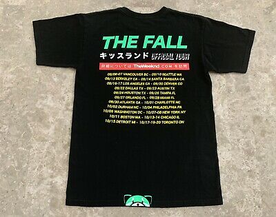 RARE - The Weeknd 2013 Kiss Land Official Issue Xo KissLand Tour Glow-in-dark
