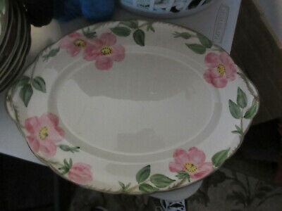 "Large 14""  Platter, Desert Rose Pattern, Franciscan Ware China, California"
