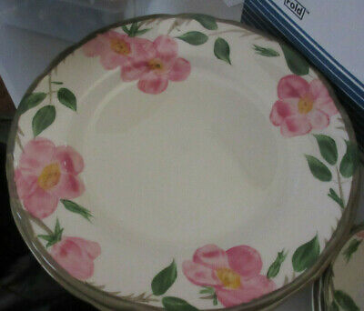 "4 10"" dinner  plates  Desert Rose Pattern, Franciscan Ware China,"