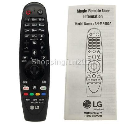 Genuine LG AN-MR650A Magic Remote Control For for LG Smart TV AKB75075301 OZ