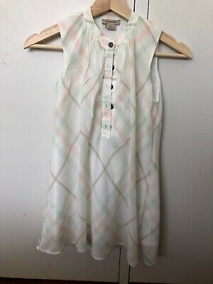 Burberry girls size 8Y Dress