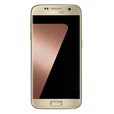 Samsung Galaxy S7 Sm-G930 32Gb Android 4G Ram Unlocked Smartphone Gold Grade A
