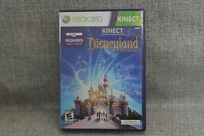 Kinect Disneyland Adventures - Xbox 360 Game - Tested!