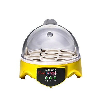 7 Egg Incubator  For Eco Chicken Duck Digital Automatic Hatcher Household