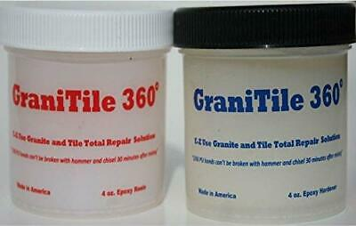 GraniTile 360~8 oz. epoxy Knife-Grade kit. Specifically formulated for Granite,