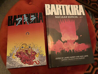 Bartkira Nuclear Edition * New & Sealed + Exhibition Book Simpsons Akira