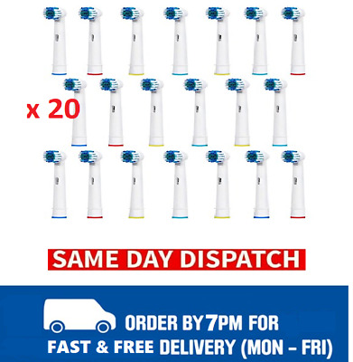 20 x Electric Tooth brush Heads Replacement for Braun Oral B Vitality Precision