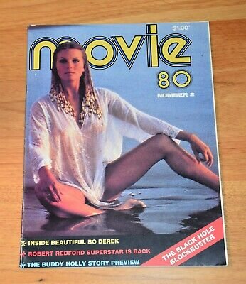 Aust. Movie Mag 1980 - No 2 - Bo Derek Cover - VGC