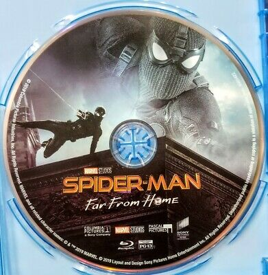 Spiderman Far From Home Bluray Disc Only