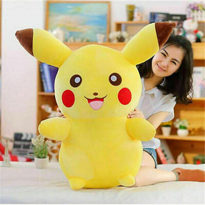 "22"" JUMBO PIKACHU Pokemon Plush Doll Stuffed Pillow Soft Cushion Toy Xmas Gift"