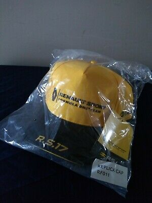 RENAULT Sport Formula 1 2017 Baseball Cap, Brand New & Sealed With Tags
